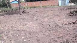 Terreno em quebra pote