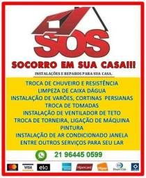 Serviços de reparos, instalações e manutenção em geral em seu lar