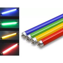 Lâmpada Tubular LED Colorida ? T8 - 1,20cm