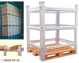 Rack Metálico Empilhável | Racks Metálicos | Venda e Locação