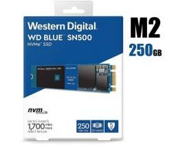 SSD M2 NVME 250Gb - Wd Blue - 2400 Leitura - 1750 Gravação