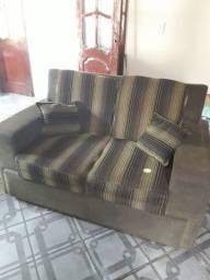 Vendo sofá usado de 2 lugares