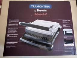 Grill Elétrico Tramontina by Breville Aço Inox Adjusta