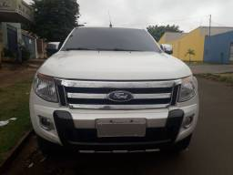 Ford ranger xlt cd 2.5 flex, 2014/2014, couro completissima