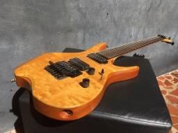 Guitarra Ronay 7 Cordas Custom Seymour Dimarzio Gotoh