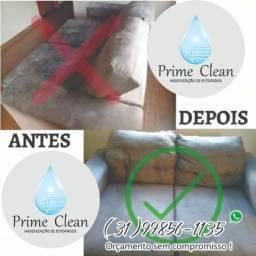 Lavagem e higienização de estofados