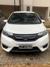 Honda fit 2015/2015 lx 1.5 flex automático - único dono (dut em branco)