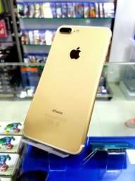 Iphone 7plus vitrine 128 GB 90 dias de garantia