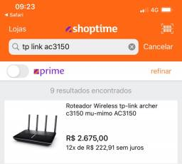 Roteador Wireless Tp-Link AC 3150 - 2.4 e 5Ghz