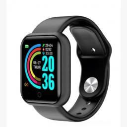 Relógio Inteligente Smartwatch D20 - Preto
