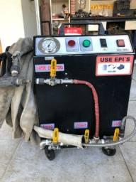 Título do anúncio: Máquina a vapor extratora LV13 WASH STEAMER seminova 6 meses de uso