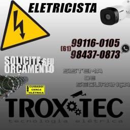 Eletricista e segurança Eletrônica Técnico Fabio