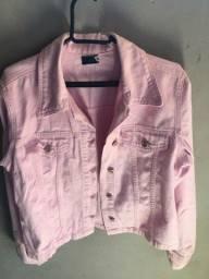 Jaqueta de brin, tamanho Gg(veste M e G), perfeito estado, nenhuma avaria