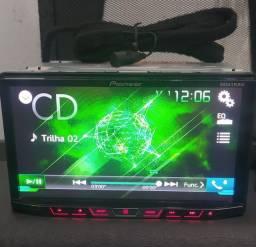 Título do anúncio: Dvd Pioneer 02 Din com Bluetooth