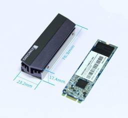 Dissipador para SSD M.2 - 2280