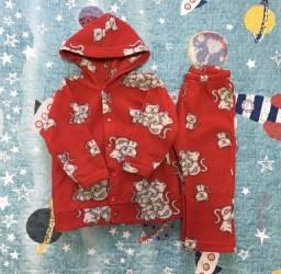Pijama de soft bebê - M - pouco usado