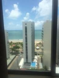 Apartamento com 2 qts sendo uma suite vista livre para mar!!