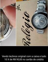 Relógio technos com a caixa original