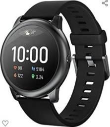 "Smartwatch Haylou LS05 Solar, Bluetooth 5.0, IP68, Tela 1.28"" HD - 2020 (Preto)<br><br>"