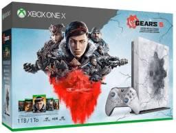 Microsoft Xbox One X 1TB Gears 5 Limited Edition cor artic blue