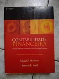 Contabilidade Financeira 12° Edição -<br>Clyde Stickney - Usado