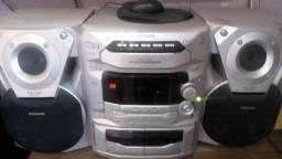 Onde Comprar Produto Barato, Aparelho de som Panasonic 5 CDs