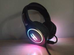 Headset Gamer Pra Pc Com RGB Lehmox Gt-F3