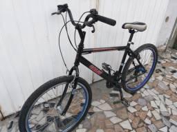 Bicicleta Caloi aro 26 aero,Rolamentados,Freios V-brake,Estudo-proposta !