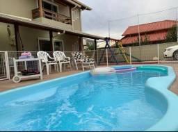 Título do anúncio: Temporada casa com piscina pinheira 3 minutos da praia