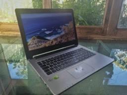 Ultrabook Asus S46cb I7-3537u 4gb Ram 500gb Hd Placa Nvidia