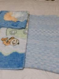 Cobertor e coberta infantil