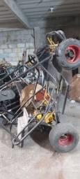 Mini buggy  em fase final de reforma