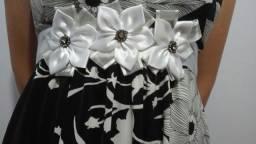 Vestido Floral Com Bojo