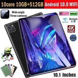 Tablet Pc Com 2 Chips 1Cartão memória 10G ram + 512G 8 polegadas Android