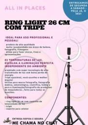 Ring light de 26cm com Tripé
