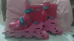 Patins rosa Minnie