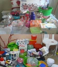 Procuro produtos pra revenda utilidades domesticas copos panela xicara potes plásticos etc