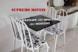 Mesa de 4 cadeiras Bianca Novos