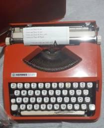 Maquina de escrever hermes baby