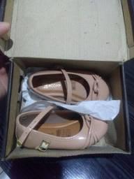 Sapato infantil feminino Tricae