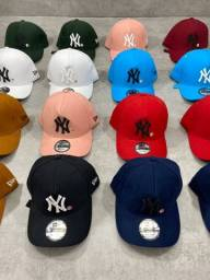 Boné NY New Era Modelo Baseball Masculino e Feminino