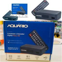 Título do anúncio: CONVERSOR DIGITAL AQUARIO TV FULL HD DTV-4000