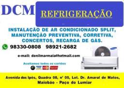 Limpeza  e  Instalação em Ar  Condicionados