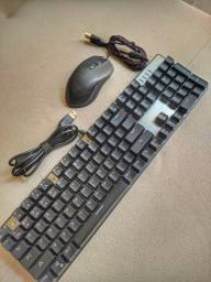 Kit Gamer mouse + teclado mecânico RGB Motospeed