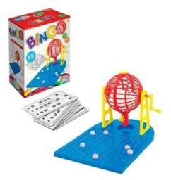 Jogo Bingo com Roleta e 48 Cartelas (Kepler)