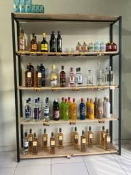 Vendo estante para bebidas, mercadorias em geral