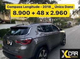 Título do anúncio: Compass Longitude 2.0 Aut - 2018 _ Pouco Rodado _ Top de Linha