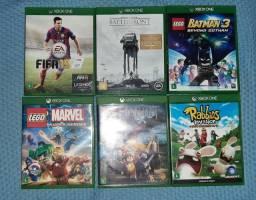 Combo 6 jogos originais de Xbox One