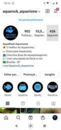 Perfil no Instagram com mais de 10k e parcerias