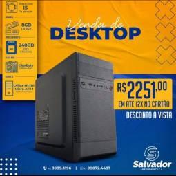 Computador I5-7500 - 8Gb DDR3 - SSD240Gb